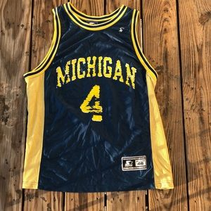 Vintage faded 90s Starter CHRIS WEBBER Jersey